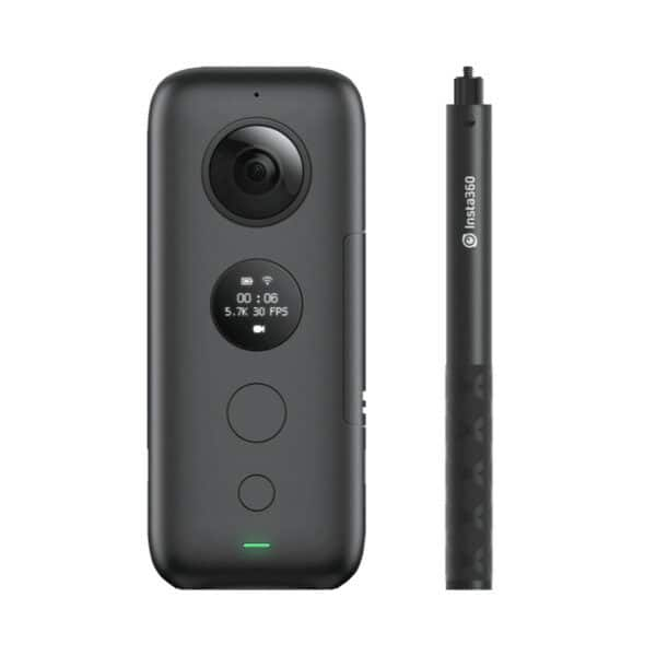Insta360 ONE X with Selfie Stick VeeR Store